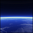 earths thin atmosphere